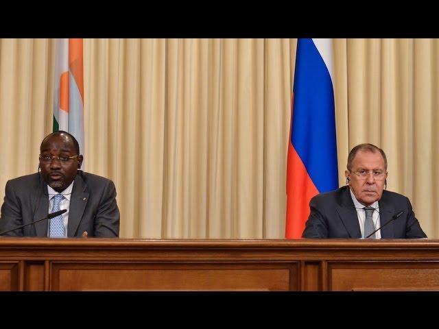 С.В.Лавров и И.Якубу | Sergey Lavrov & Ibrahim Yacoubou