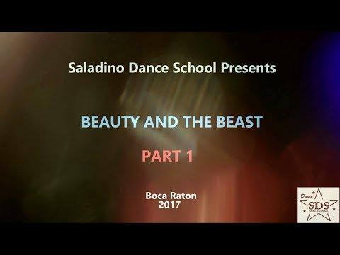 Saladino Dance School, Dance Concert Beauty and The Beast, Part 1
