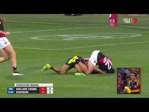 Round 4 AFL - Adelaide v Essendon Highlights