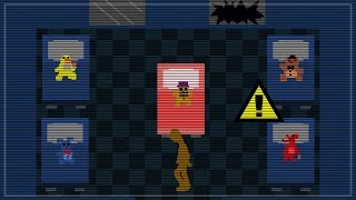 Entering the closed room in FNaF 6 minigame?! - Freddy Fazbear's Pizzeria Simulator Video