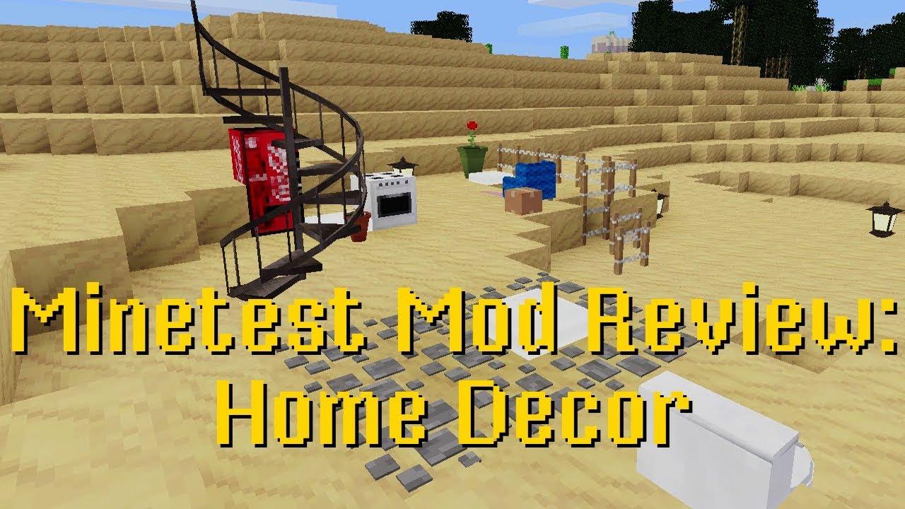 Minetest Mod Review Home Decor