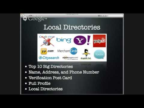 SEO For Local Business - How Do Dominate The Web With Your Brick And Mortar Business
