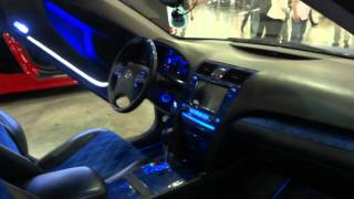 Moscow Tuning Show Toyota Camry
