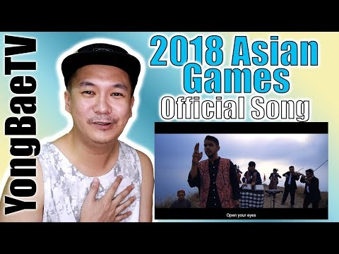 Alffy Rev | Official Songs 18th Asian Games 2018 Mash-up COVER | Filipino Reaction | YongBaeTV