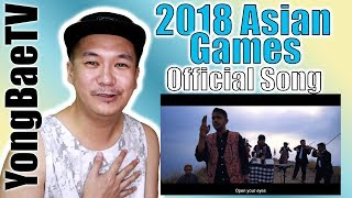 Alffy Rev Songs 18th Asian Games 2018 mash up COVER Filipino Reaction YongBaeTV MP3