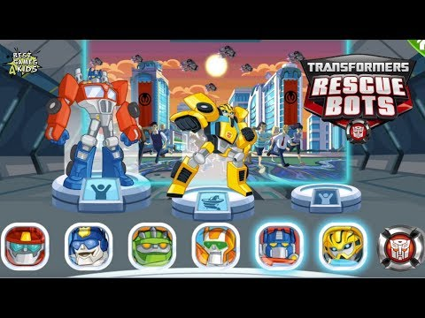 Transformers Rescue Bots: Disaster Dash Hero Run #223 | COMPLETE exciting missions!