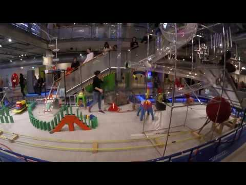 Science Center NEMO Amsterdam LIVE Experiment Chain Reaction | GoPro Session 5