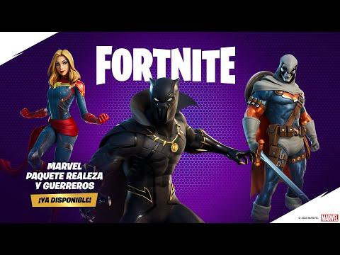 La realeza y los mejores guerreros de Marvel llegaron a Fortnite
