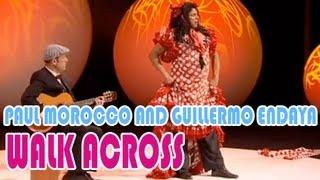 Paul Morocco and Guillermo Endaya : A beautiful flamenco dancer !