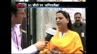 LK Advani's daughter Pratibha Advani casts her vote