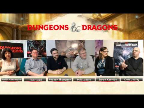 D&D Dungeon Master's Roundtable