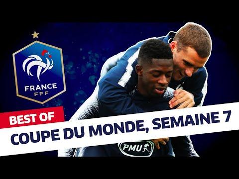 """Equipe de France : Le """"Best of"""" des Bleus - Semaine 7 I FFF 2018"""
