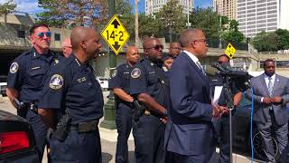 Detroit Police Chief James Craig remembers off-duty officer killed in traffic crash