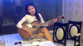 Quynh Scarlett - Nếu một mai em sẽ qua đời (tự chơi guitar)