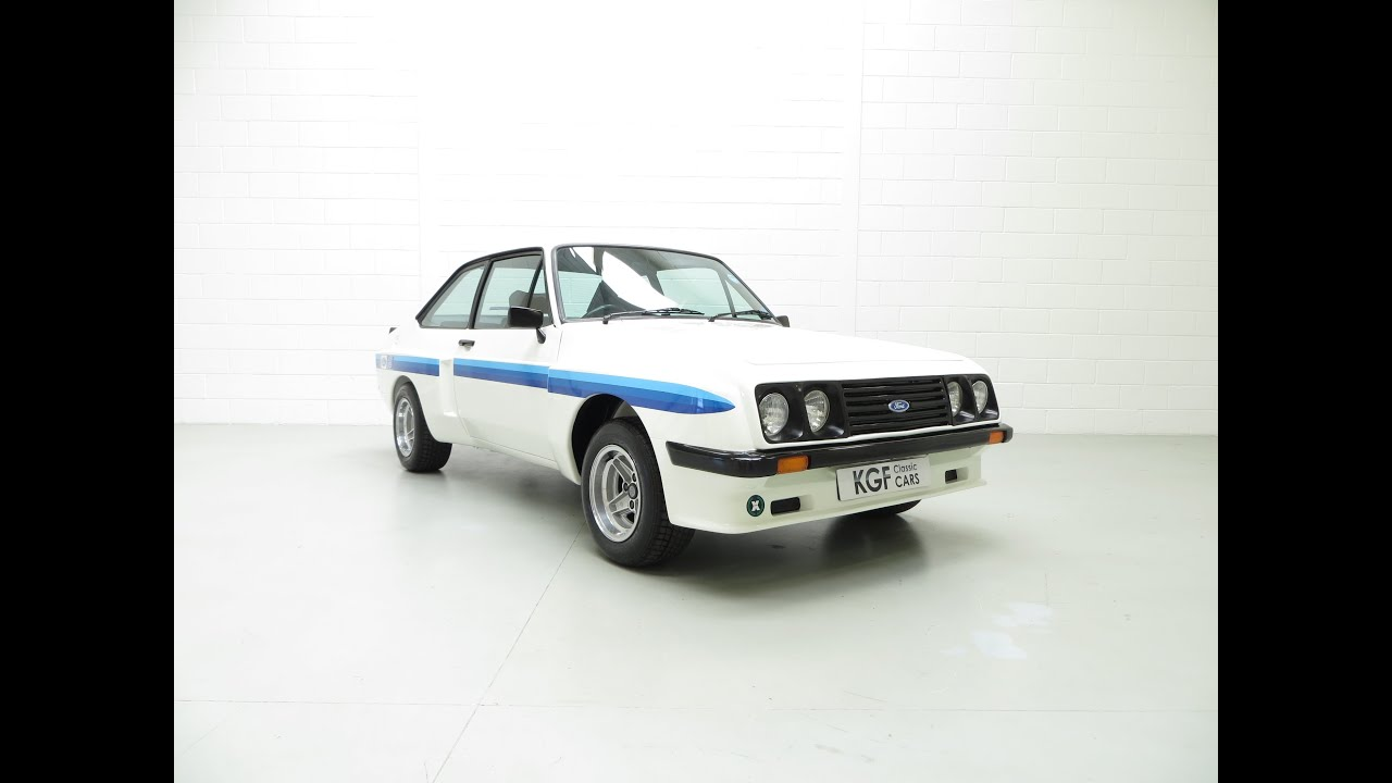 The Ultimate Mk2 Ford Escort Rs2000 X Series With Inner