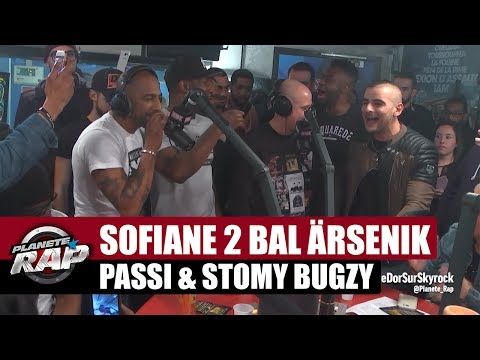 Live de Sofiane, 2 Bal, Ärsenik, Passi, Stomy Bugsy dans Planète Rap !