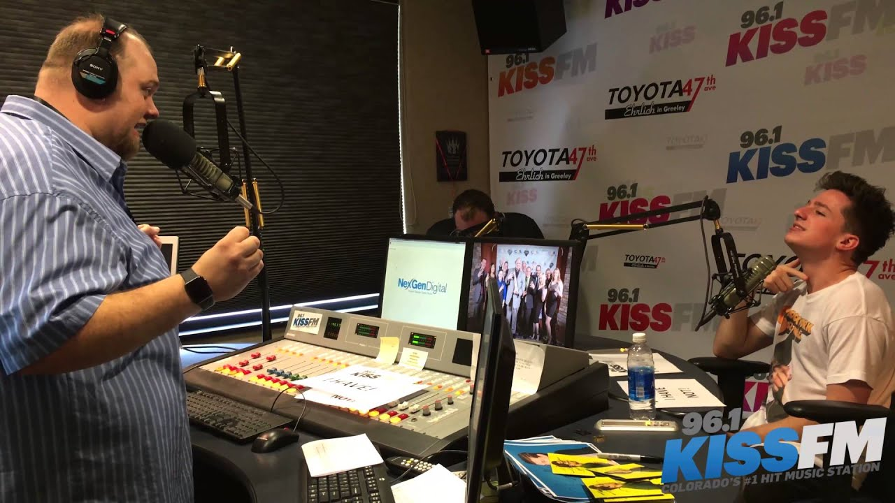 Charlie Puth Plays Never Have I 96 1 Kiss Fm Youtube
