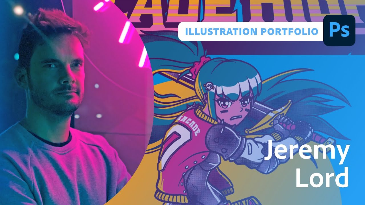 Creating illustrations for your portfolio with Jeremy Lord - 1 of 2