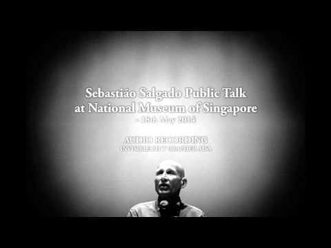 Sebastião Salgado Public Talk, Singapore 18th May 2014