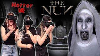 3 Κορίτσια έρχονται αντιμέτωπα με την Καλόγρια (The Nun VR) #Internet4u