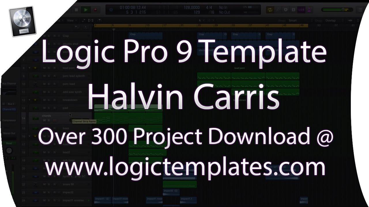 Logic Pro Template - Electro House - Halvin Carris [www ...