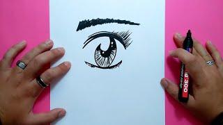 Como dibujar un ojo paso a paso 3 | How to draw an eye 3