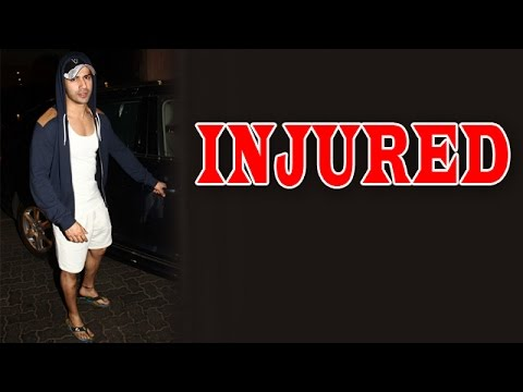 Varun Dhawan INJURES himself on the sets of 'ABCD 2' | Bollywood News