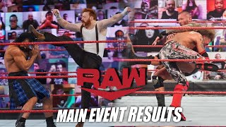 Sheamus Heel Turn Edge vs Orton on Raw Raw Main Event Results and Review Feb 1st 2021