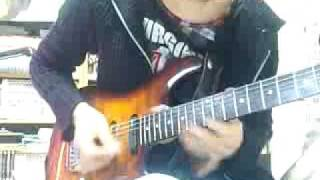 インペリテリのギターソロをハモってみました。
