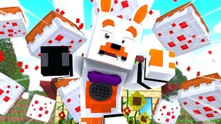 Party Games Hate Lolbit (Minecraft Fnaf Roleplay Adventure)