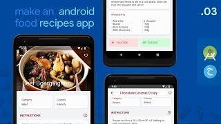 FOOD RECIPE DETAIL 🥘 — #3 Android Food App (Meal Recipes) // Java • MPV Design Pattern • Retrofit
