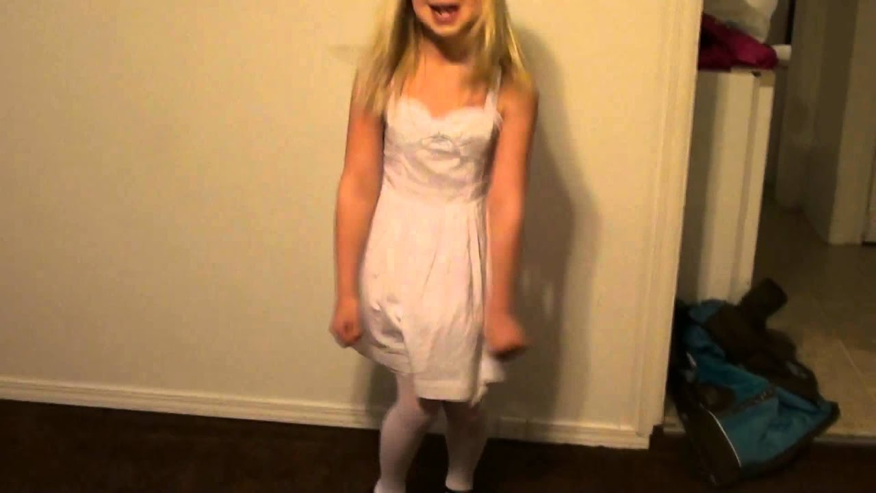4088dae731 Sierra and Cheyenne In Their Easter Dresses (2012) - YouTube