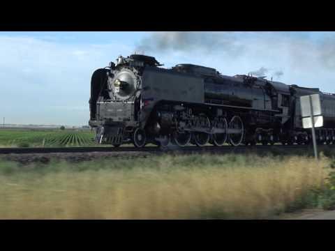 Union Pacific 844 - CFD train 2017