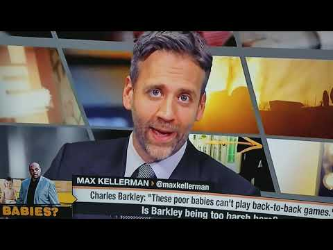 Max Kellerman singing the Biggie hook.Stephen A Smith was cracking up