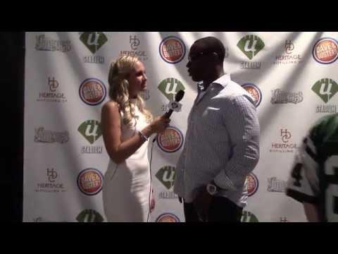 Ustadium 2014 NFL Kickoff Party- Tony Richardson