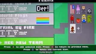 #IDARB Create a team Add characters Play Local game