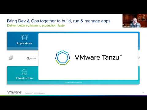 VMware Tanzu & Dell Tech Summit 2020 Session 9 - The Founder of Kubernetes... at VMware