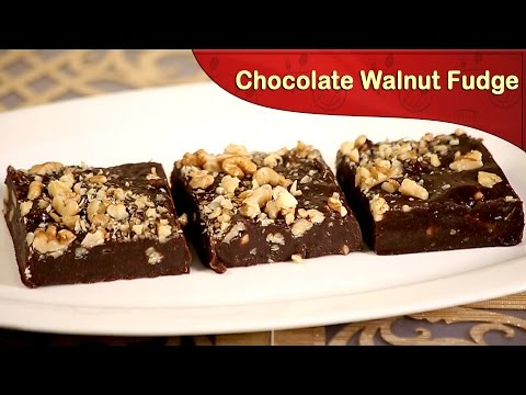 Download Youtube: How To Make Chocolate Walnut Fudge | Chocolate Recipe | Cook Book
