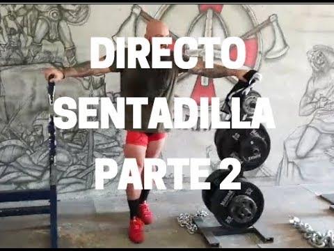Directo sentadilla + 302.5kg parte 2.