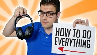 Sony WH-1000xm3 | How to do Everything (Must Watch Before You Buy!)