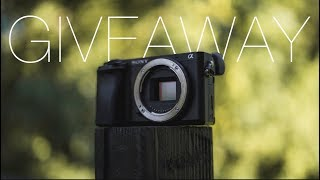Sony A6300 Giveaway!