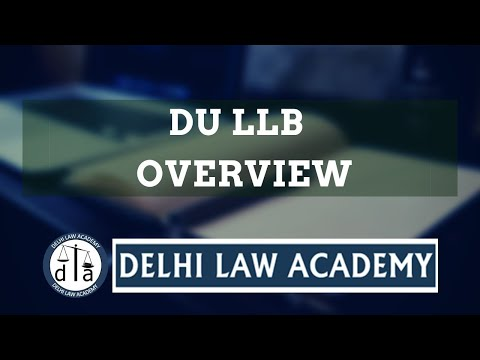 DU LLB Entrance 2017 Pattern Changed!