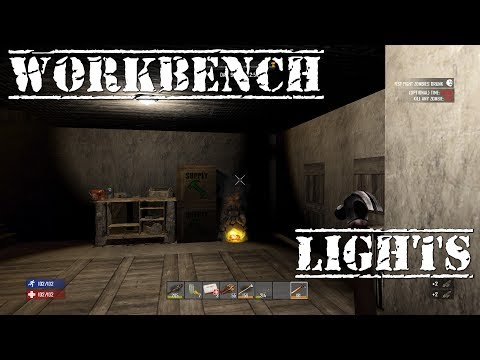 7 Days to Die | ps4 | Workbench & Lights | S2 EP7