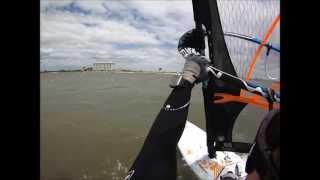 Windsurfing at Lakes Bay, NJ