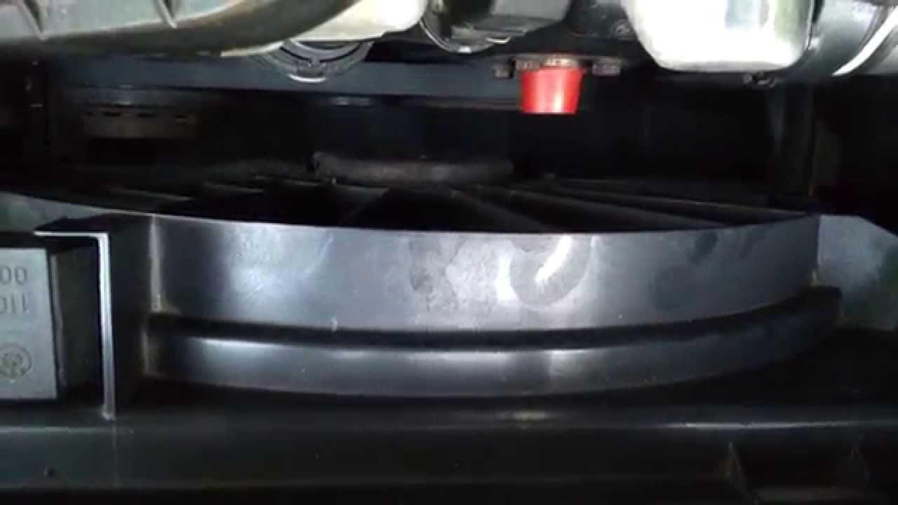 BMW E46 radiator fan test YouTube