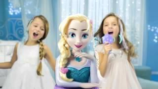 Tête à coiffer Elsa Reine des neiges Disney - IMC Toys