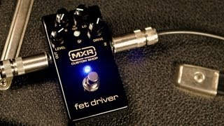 MXR Custom Shop: Joe Bonamassa FET Driver