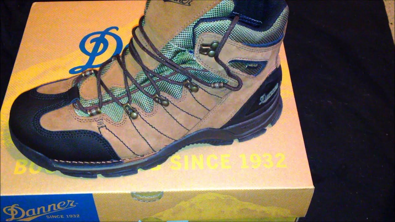 Danner GTX Mt Defiance Hiking Boots - YouTube