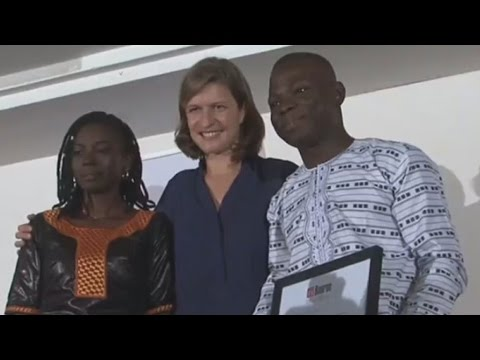 La bourse Ghislaine Dupont et Claude Verlon remise à deux lauréats béninois