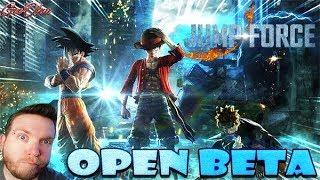 🔴LIVE JUMP FORCE [PS4] : Découverte Open Bêta